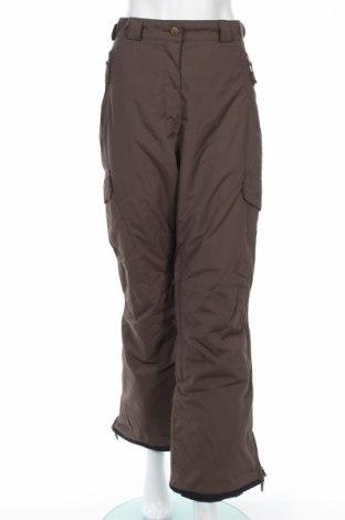 Дамски панталон за зимни спортове Crane, Размер M, Цвят Кафяв, 100% полиамид, Цена 9,36лв.
