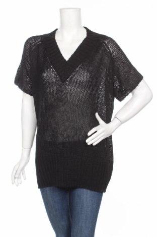 Дамски пуловер Amalia, Размер L, Цвят Черен, 88% акрил, 12% полиамид, Цена 9,10лв.