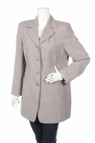 Дамско сако Authentic Clothing, Размер M, Цвят Сив, Полиестер, Цена 13,52лв.