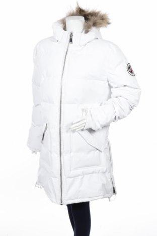 Дамско яке Geographical Norway, Размер XL, Цвят Бял, Полиамид, Цена 84,50лв.