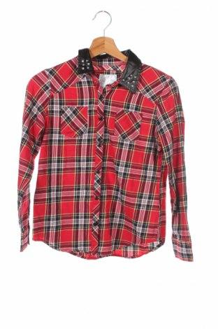 Детска риза Justice, Размер 12-13y/ 158-164 см, Цвят Червен, Цена 4,50лв.