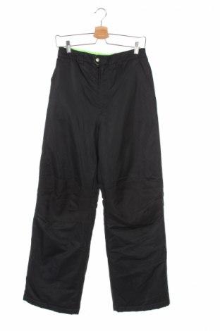 Детски панталон за зимни спортове Faded Glory, Размер 15-18y/ 170-176 см, Цвят Черен, Полиестер, Цена 11,00лв.