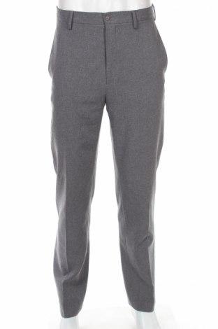 Мъжки панталон Sisley, Размер M, Цвят Сив, Полиестер, Цена 13,00лв.
