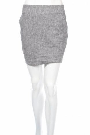 Пола Amisu, Размер S, Цвят Сив, 55% лен, 43% памук, 2% еластан, Цена 5,46лв.