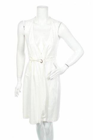 Šaty  Massimo Dutti, Rozměr XS, Barva Krémová, 80% viskóza, 18% polyamide, 2% elastan, Cena  457,00Kč