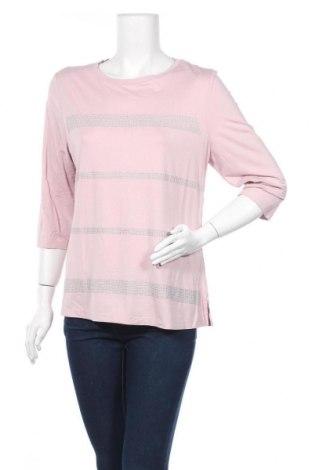 Дамска блуза Michele Boyard, Размер L, Цвят Лилав, 95% вискоза, 5% еластан, Цена 16,96лв.