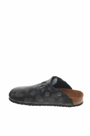 Γυναικείες παντόφλες Birkenstock, Μέγεθος 34, Χρώμα Μαύρο, Δερματίνη, Τιμή 32,12€