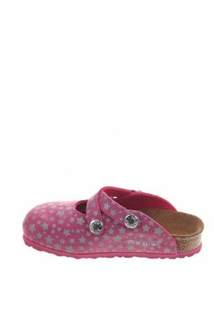 Γυναικείες παντόφλες Birkenstock, Μέγεθος 26, Χρώμα Ρόζ , Δερματίνη, Τιμή 32,12€