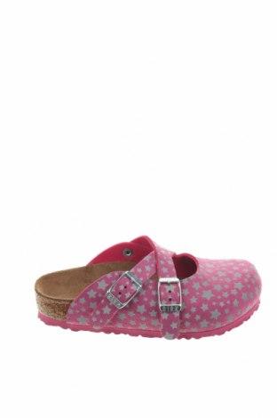 Γυναικείες παντόφλες Birkenstock, Μέγεθος 27, Χρώμα Ρόζ , Δερματίνη, Τιμή 33,49€