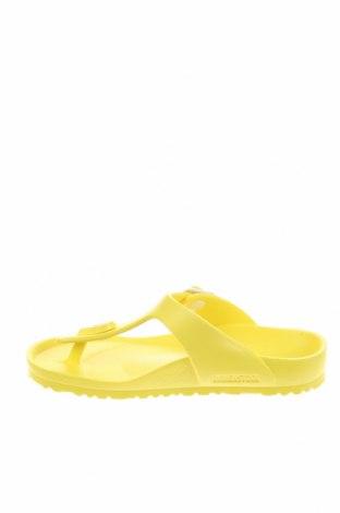 Γυναικείες παντόφλες Birkenstock, Μέγεθος 30, Χρώμα Κίτρινο, Πολυουρεθάνης, Τιμή 35,79€