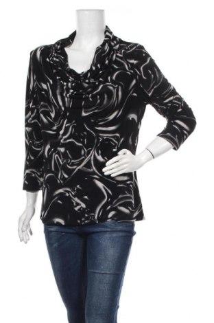 Дамска блуза Adrienne Vittadini, Размер L, Цвят Черен, 95% полиестер, 5% еластан, Цена 35,70лв.