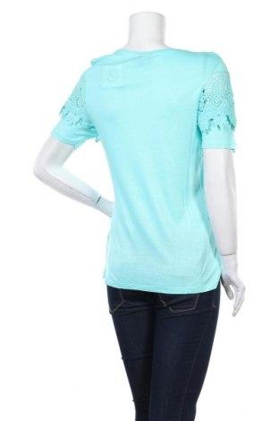 Γυναικεία μπλούζα Be You, Μέγεθος M, Χρώμα Μπλέ, Βισκόζη, Τιμή 13,15€