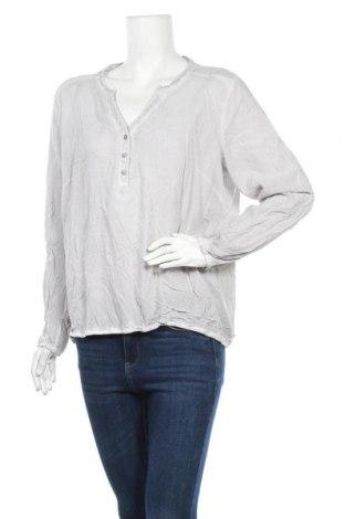 Дамска блуза Blue Motion, Размер XL, Цвят Сив, Вискоза, Цена 17,85лв.