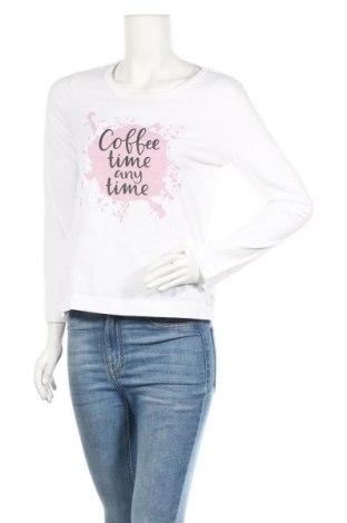 Дамска блуза Blue Motion, Размер S, Цвят Бял, Памук, Цена 16,96лв.