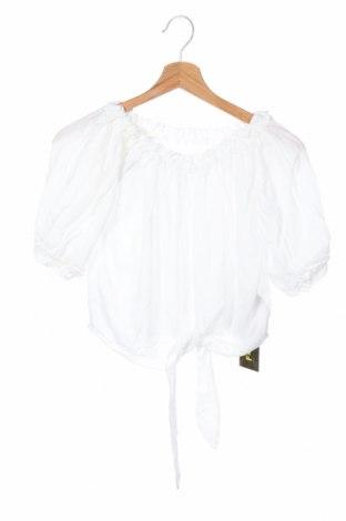 Дамска блуза F**k, Размер S, Цвят Бял, Вискоза, Цена 48,30лв.