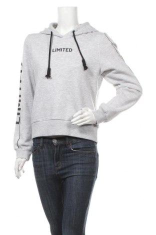Дамска блуза Fb Sister, Размер L, Цвят Сив, 50% памук, 50% полиестер, Цена 36,04лв.