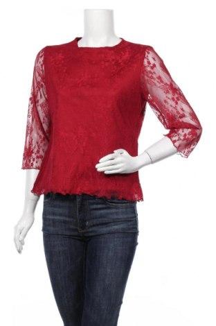 Дамска блуза Michele Boyard, Размер L, Цвят Червен, Полиестер, Цена 13,39лв.