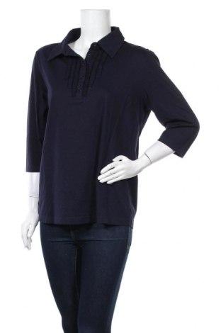 Дамска блуза Michele Boyard, Размер XL, Цвят Син, Памук, Цена 15,17лв.