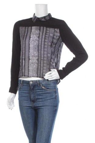 Дамска блуза Monki, Размер S, Цвят Черен, Вискоза, Цена 18,95лв.