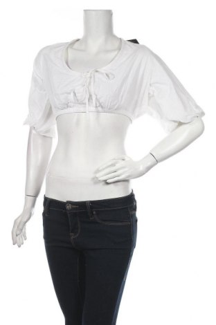 Γυναικεία μπλούζα Nly Trend, Μέγεθος M, Χρώμα Λευκό, Βαμβάκι, Τιμή 6,20€