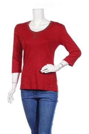 Дамска блуза Olsen, Размер M, Цвят Червен, Памук, Цена 18,90лв.