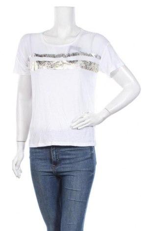 Γυναικεία μπλούζα Patrizia Pepe, Μέγεθος S, Χρώμα Λευκό, 80% βισκόζη, 20% λινό, Τιμή 29,73€