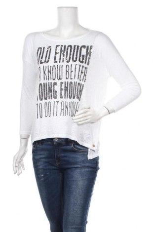 Дамска блуза Rich & Royal, Размер S, Цвят Бял, 50% памук, 50% полиестер, Цена 19,64лв.