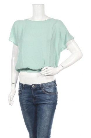 Γυναικεία μπλούζα Terranova, Μέγεθος L, Χρώμα Πράσινο, Πολυεστέρας, Τιμή 7,44€