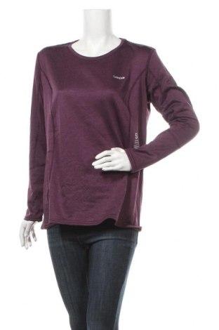 Дамска блуза Wedze, Размер XL, Цвят Лилав, Цена 16,60лв.
