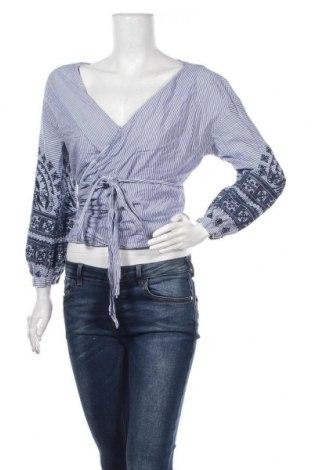 Γυναικεία μπλούζα Zara, Μέγεθος L, Χρώμα Μπλέ, Τιμή 3,51€