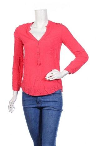 Дамска блуза Zara, Размер XS, Цвят Розов, Цена 19,95лв.