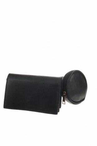 Дамска чанта, Цвят Черен, Еко кожа, Цена 33,92лв.