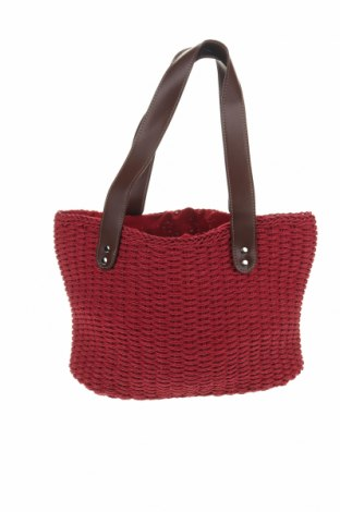 Дамска чанта, Цвят Червен, Текстил, Цена 24,57лв.