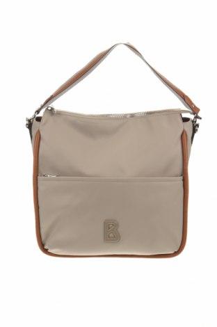 Дамска чанта Bogner, Цвят Бежов, Текстил, еко кожа, Цена 193,80лв.