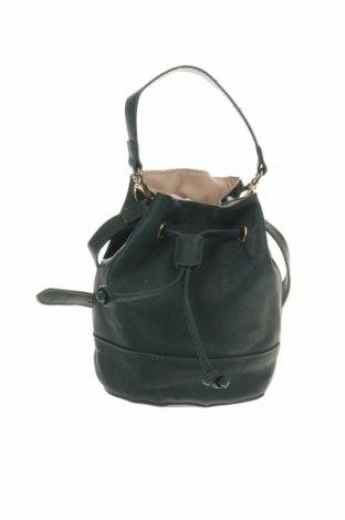 Дамска чанта Forever 21, Цвят Зелен, Еко кожа, Цена 24,57лв.