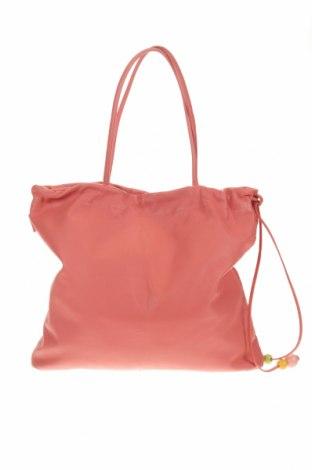 Дамска чанта Furla, Цвят Розов, Естествена кожа, Цена 309,00лв.