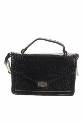 Дамска чанта Mango, Цвят Черен, Еко кожа, Цена 39,69лв.
