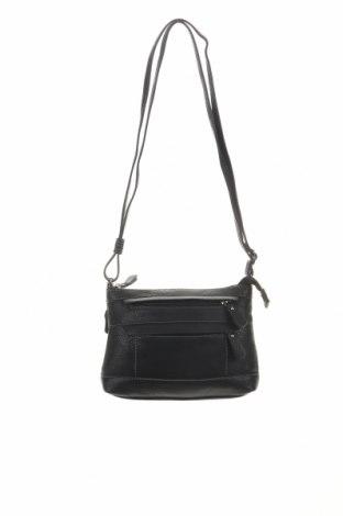 Дамска чанта Matties, Цвят Черен, Естествена кожа, Цена 39,69лв.