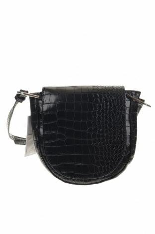 Дамска чанта Object, Цвят Черен, Еко кожа, Цена 33,92лв.