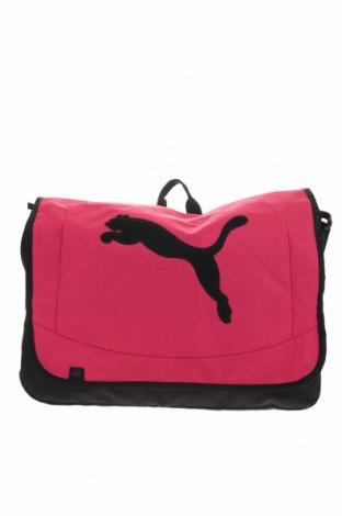 Дамска чанта PUMA, Цвят Черен, Текстил, Цена 41,90лв.