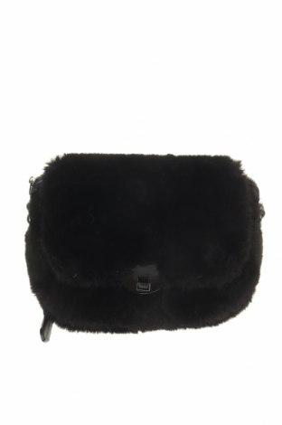 Дамска чанта Parfois, Цвят Черен, Текстил, Цена 24,57лв.