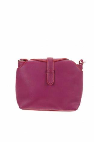 Дамска чанта Zara Trafaluc, Цвят Лилав, Еко кожа, Цена 33,00лв.