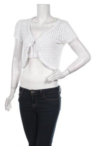 Дамска жилетка Gina Benotti, Размер S, Цвят Бял, 50% памук, 50% полиакрил, Цена 20,79лв.