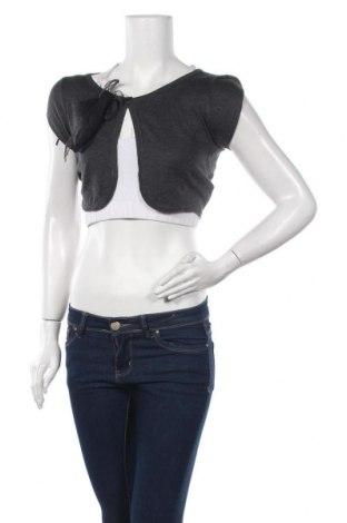 Γυναικεία ζακέτα H&M Divided, Μέγεθος M, Χρώμα Γκρί, 52% πολυεστέρας, 48% βισκόζη, Τιμή 4,09€
