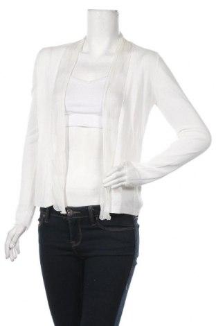 Γυναικεία ζακέτα Hallhuber, Μέγεθος S, Χρώμα Λευκό, 53% βισκόζη, 47% βαμβάκι, Τιμή 8,18€