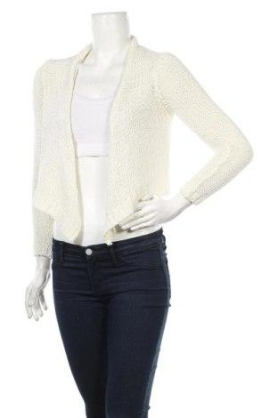 Γυναικεία ζακέτα Hallhuber, Μέγεθος S, Χρώμα Λευκό, 76% πολυακρυλικό, 24% πολυαμίδη, Τιμή 8,14€