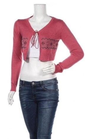 Γυναικεία ζακέτα Reserved, Μέγεθος L, Χρώμα Ρόζ , 70%ακρυλικό, 30% μαλλί, Τιμή 6,17€