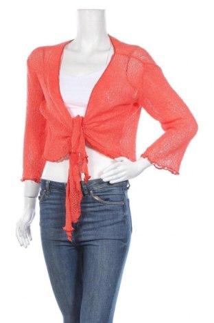 Γυναικεία ζακέτα Vasna, Μέγεθος M, Χρώμα Πορτοκαλί, Ακρυλικό, Τιμή 4,09€
