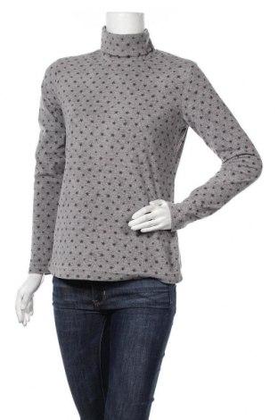 Дамска поларена блуза Active By Tchibo, Размер S, Цвят Сив, 100% полиестер, Цена 17,96лв.
