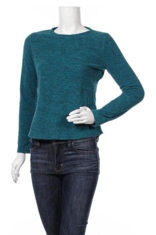 Дамска поларена блуза Tek Gear, Размер S, Цвят Зелен, Полиестер, Цена 16,96лв.